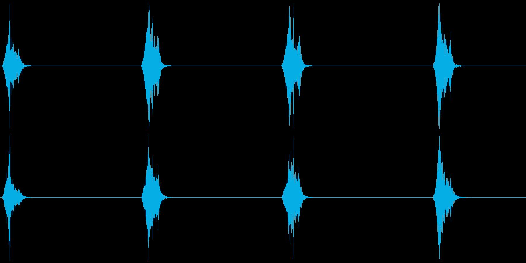 スズメの鳴き声 A 短めの再生済みの波形