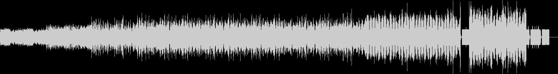 著作権フリーの洋楽を使用したい方にの未再生の波形