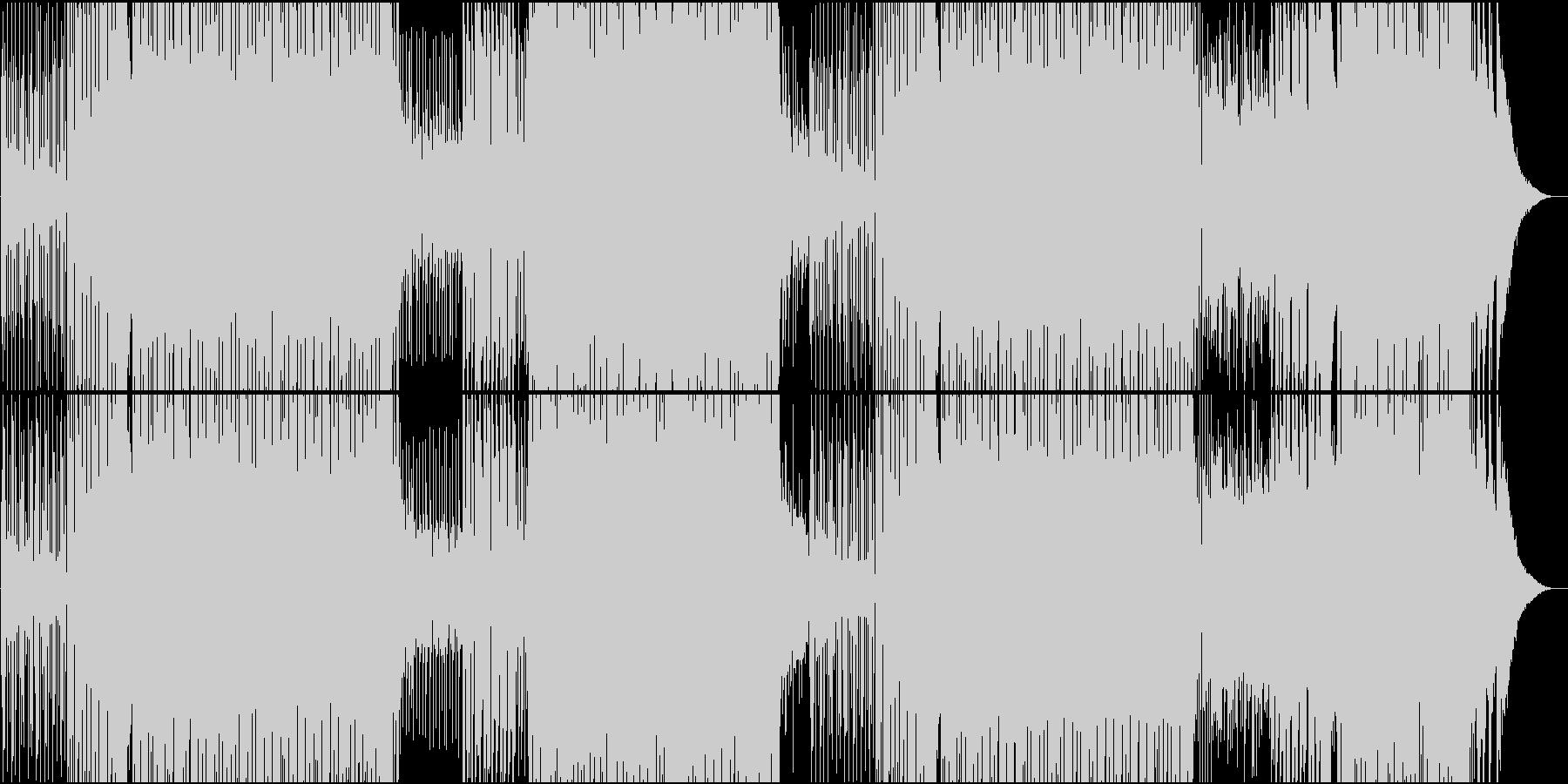 映像用速いシーケンスが気持ちいEDMの未再生の波形
