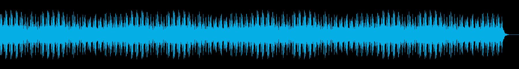 軽快でワクワクするマリンバ行進曲の再生済みの波形