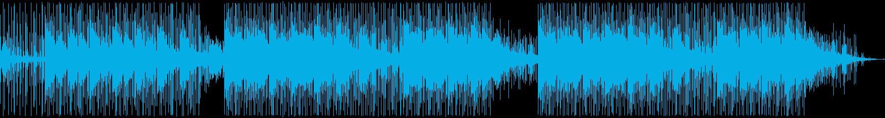 なめらかでクリア。タイムクロックビ...の再生済みの波形