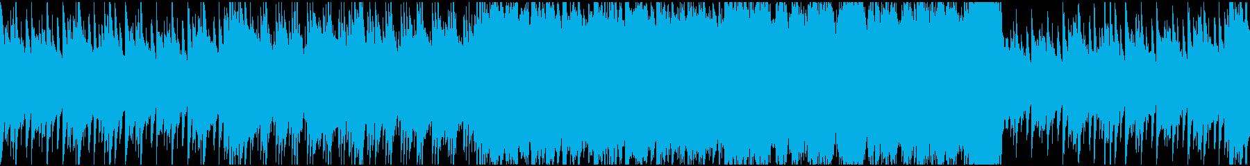 【ループ対応】ストリングスのワルツの再生済みの波形