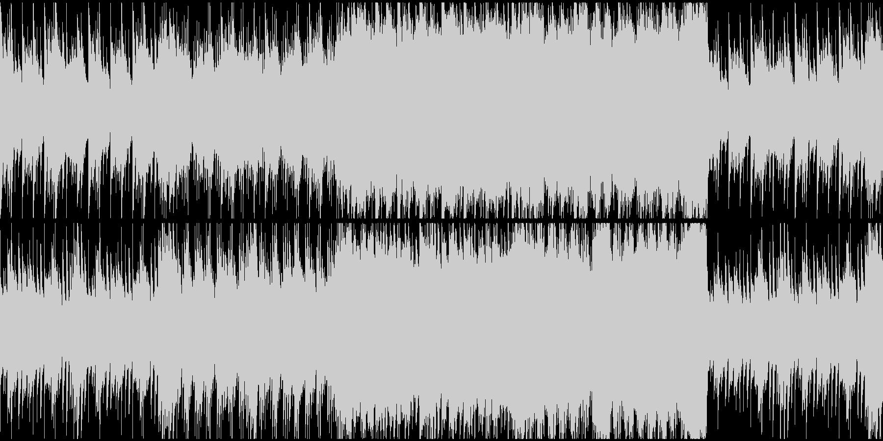 【ループ対応】感動 バラードワルツの未再生の波形