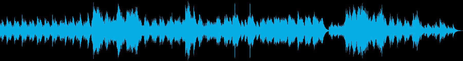 寂しい風の吹くサスペンス/オルゴールの再生済みの波形