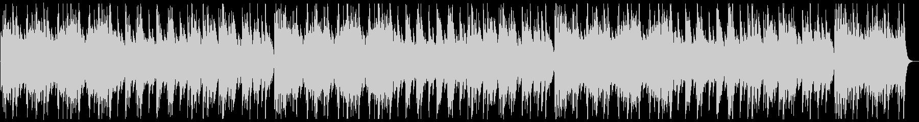 ふんわり変則感のある音階のオルゴールの曲の未再生の波形