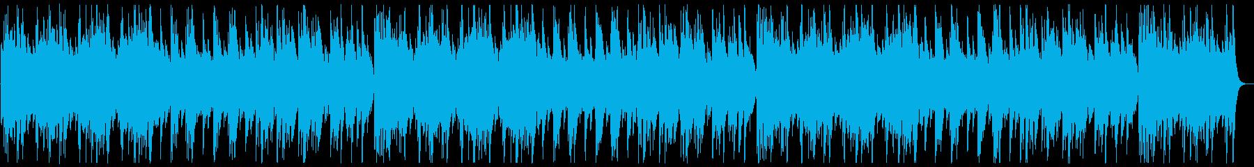 ふんわり変則感のある音階のオルゴールの曲の再生済みの波形