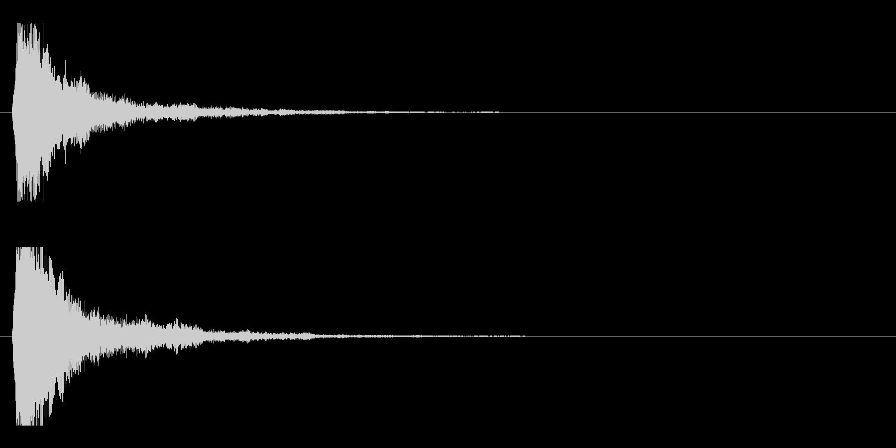 レーザー音-47-1の未再生の波形