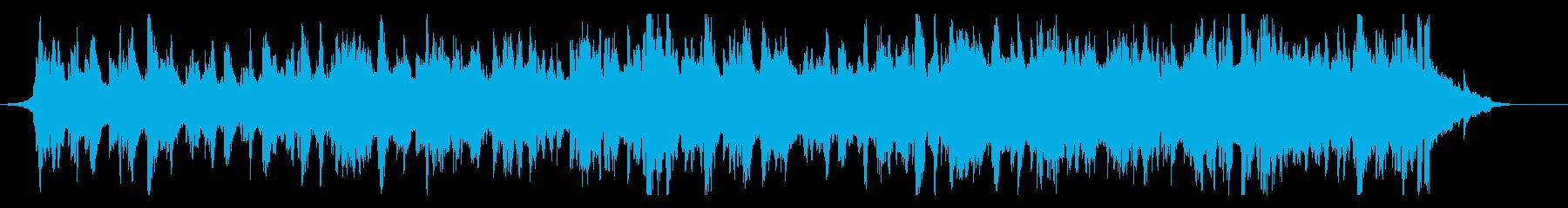 伝統的で優雅なフォークミュージックの再生済みの波形