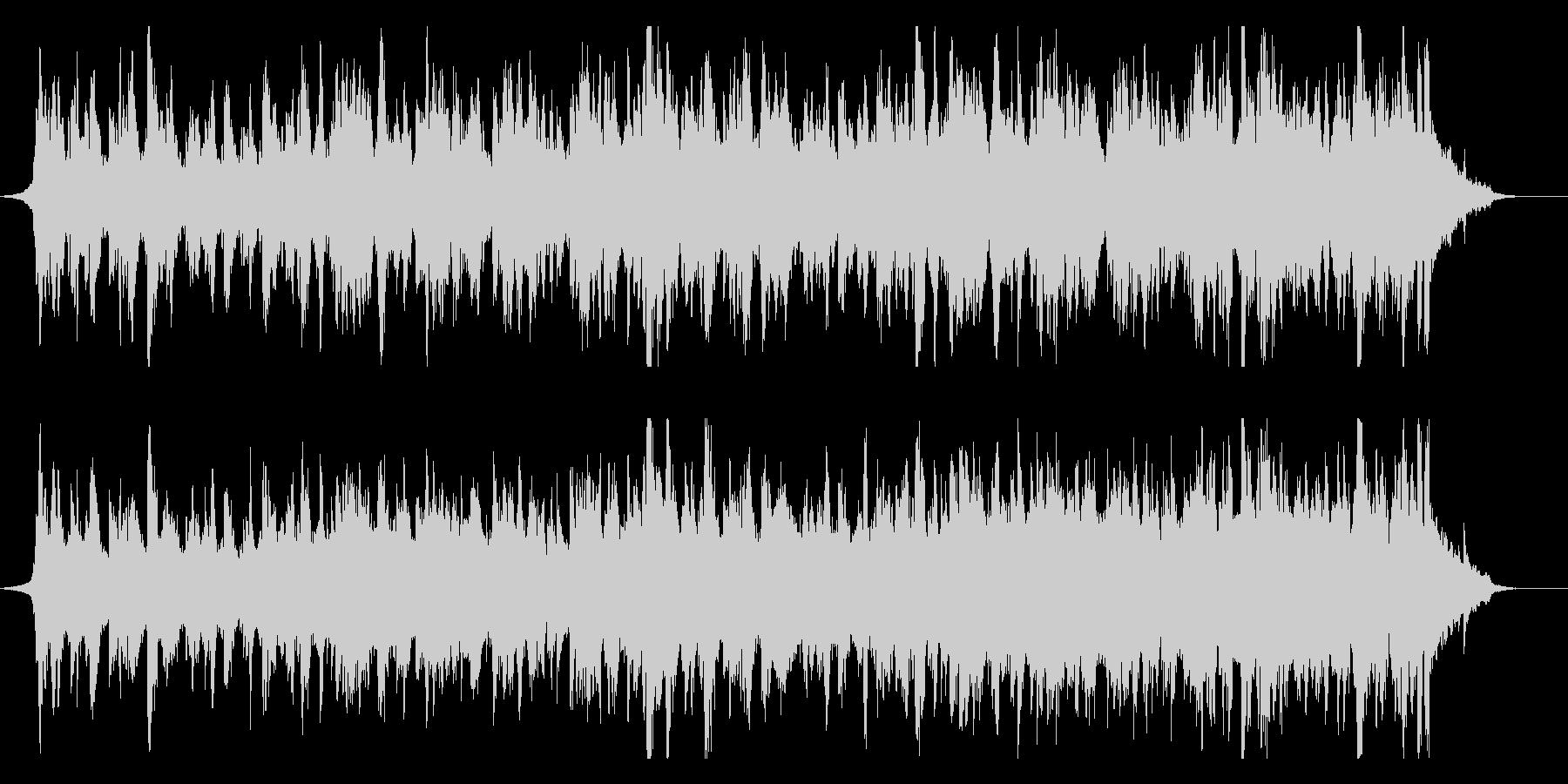 伝統的で優雅なフォークミュージックの未再生の波形