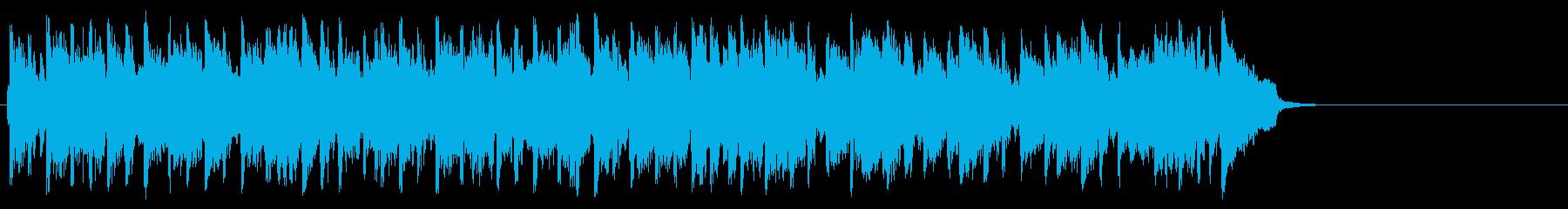 秋を感じる爽やかなポップ(サビ~エンド)の再生済みの波形