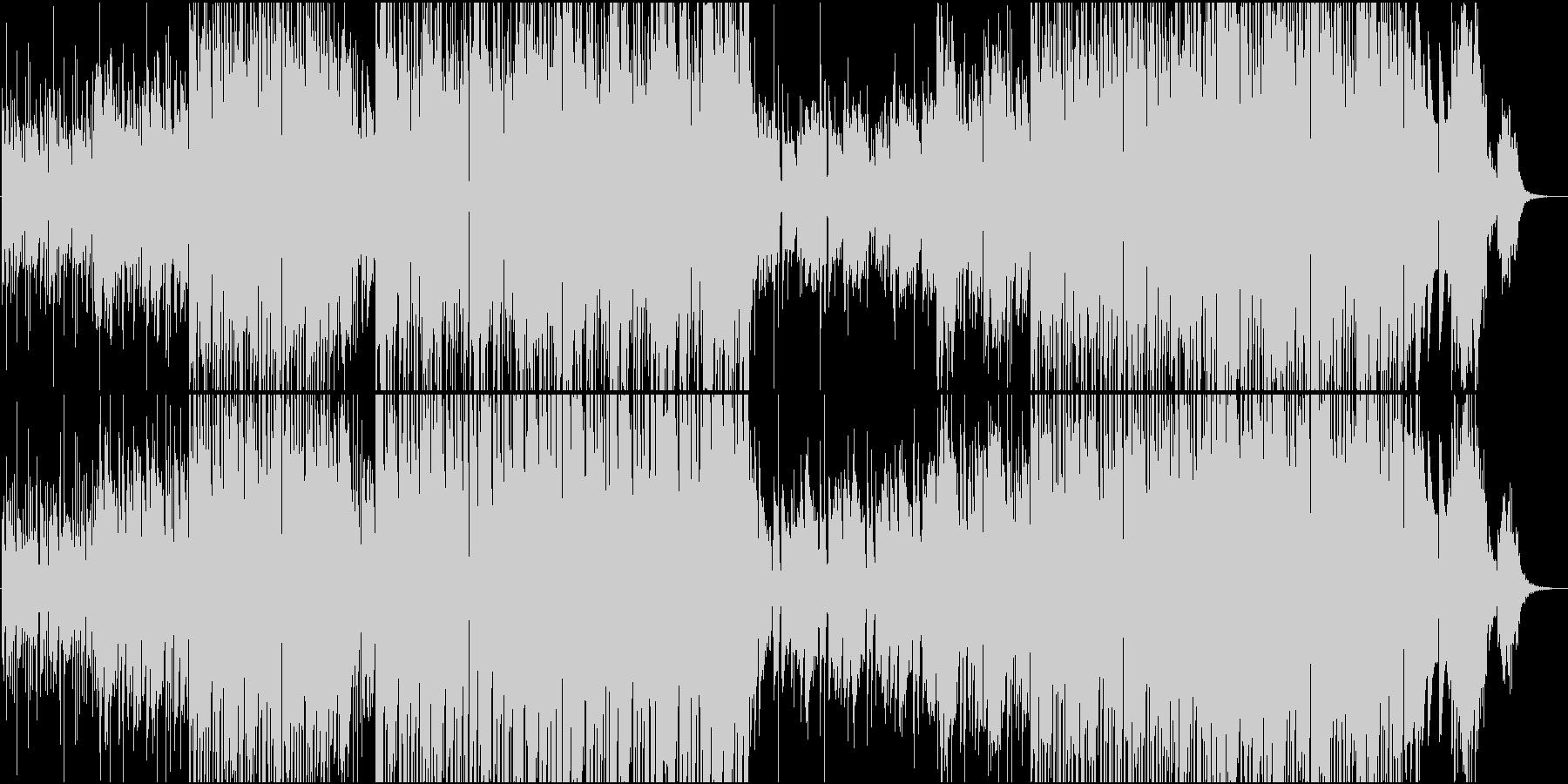 テンの雰囲気漂うアンビエントポップの未再生の波形