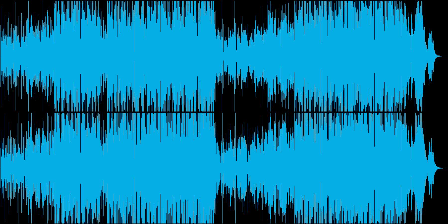 テンの雰囲気漂うアンビエントポップの再生済みの波形