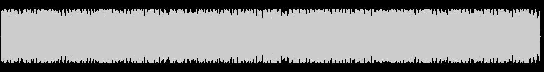 東洋のテクノポップの未再生の波形