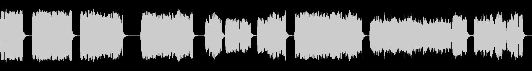 連続的な電気スパークとアーク、フォリーの未再生の波形