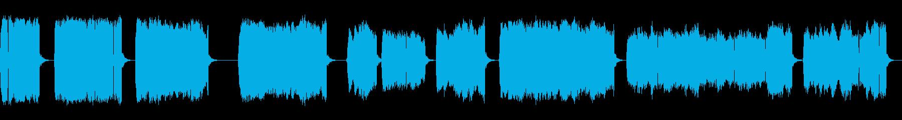 連続的な電気スパークとアーク、フォリーの再生済みの波形