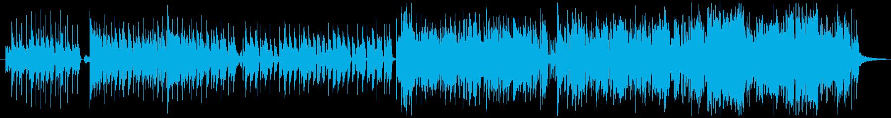 現代版人魚姫っぽい女性ボーカル曲の再生済みの波形