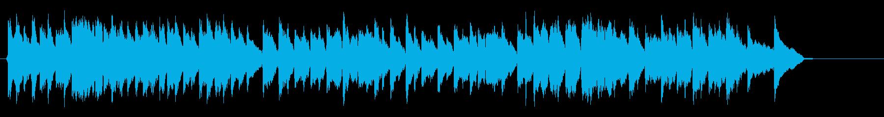 民謡 May Song をヴァイオリンでの再生済みの波形