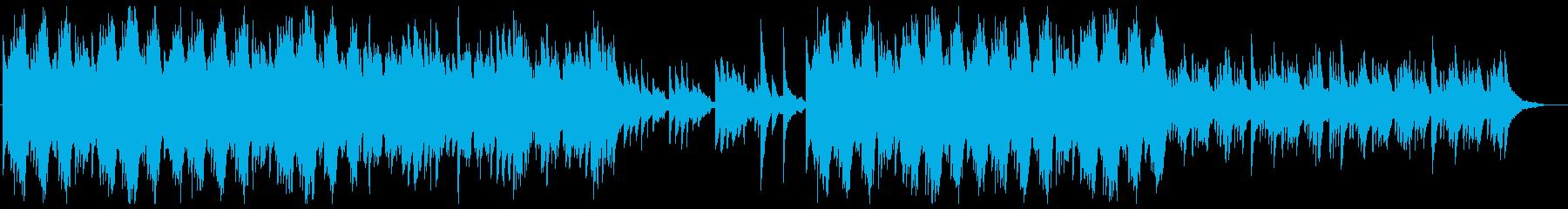 儚く切ないピアノソロの再生済みの波形