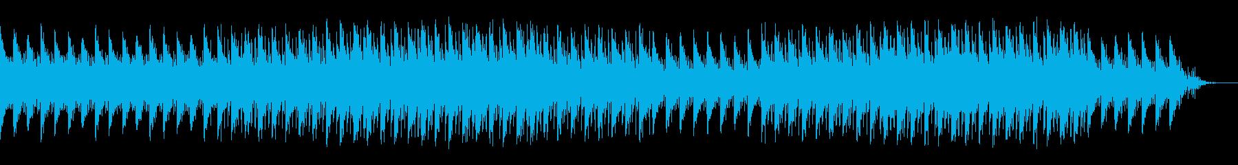 近未来的でさわやかな曲の再生済みの波形