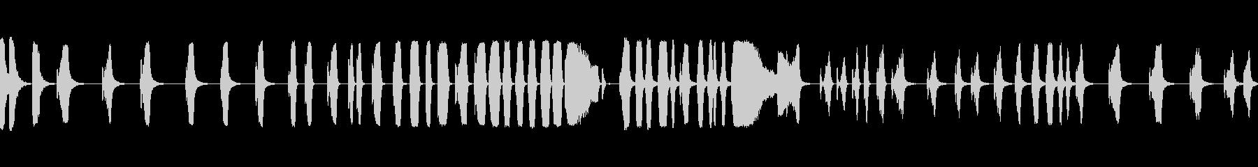 ヒューシュフランジエアマルチプルiの未再生の波形