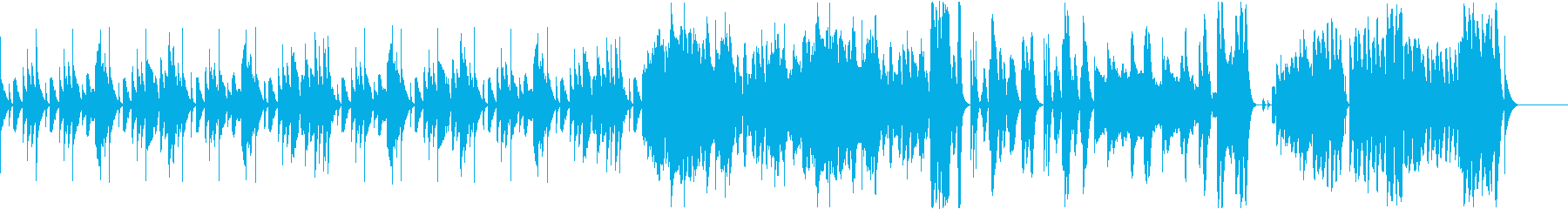 明るく可愛らしいフルートのBGMの再生済みの波形