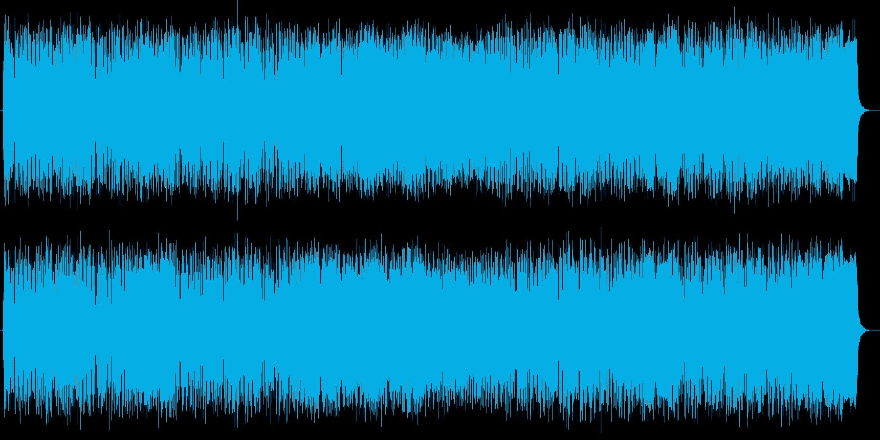 ポップな壮大さを感じる曲の再生済みの波形
