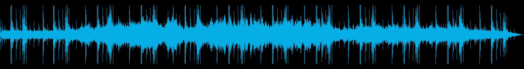 環境音×人工効果 現実のようで現実でないの再生済みの波形