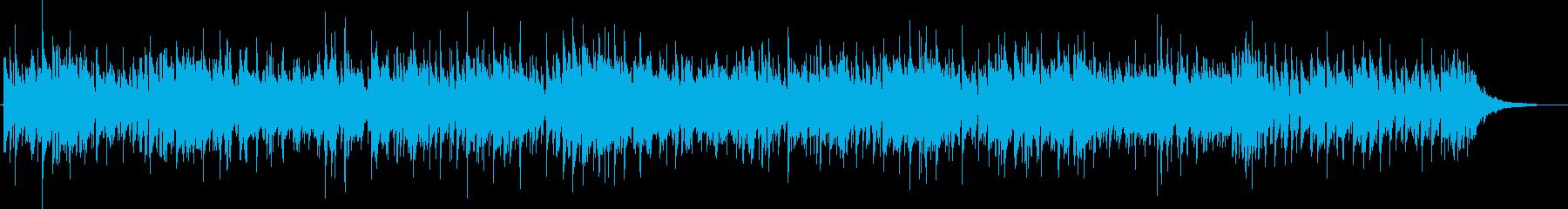 春 アコギと電子音 ひばり うぐいす 鳥の再生済みの波形