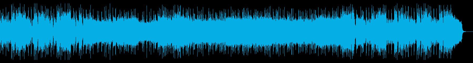 オープニング感あるポップ・ロックの再生済みの波形