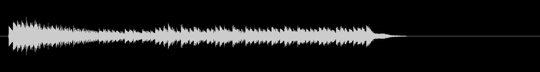 テーマ8:キシロフォンの未再生の波形