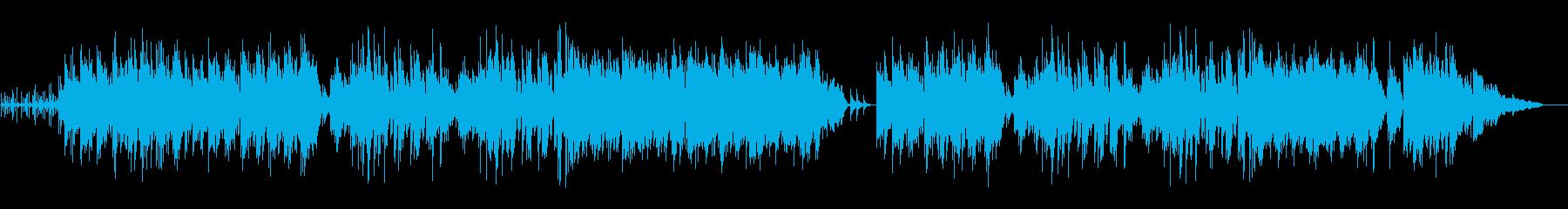 スチールギターのボサノバ風ポップスの再生済みの波形