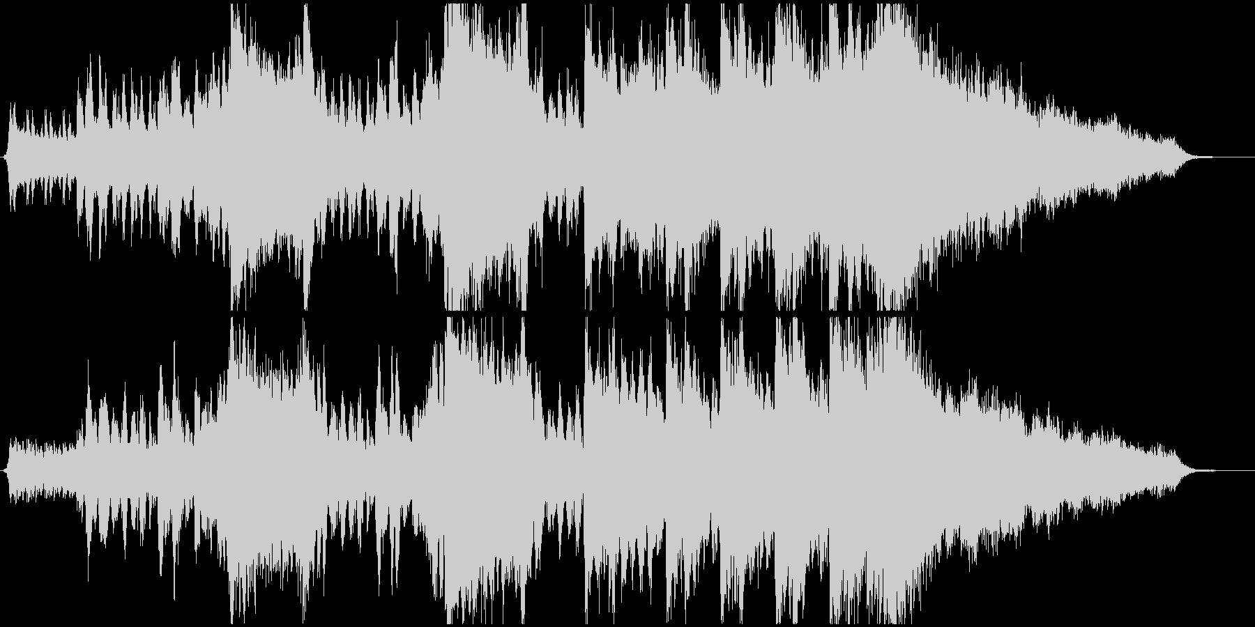 オーケストラファンタジーファンファーレの未再生の波形