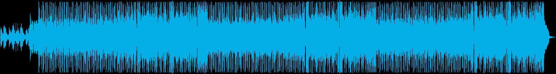 おしゃれポップバラードの再生済みの波形