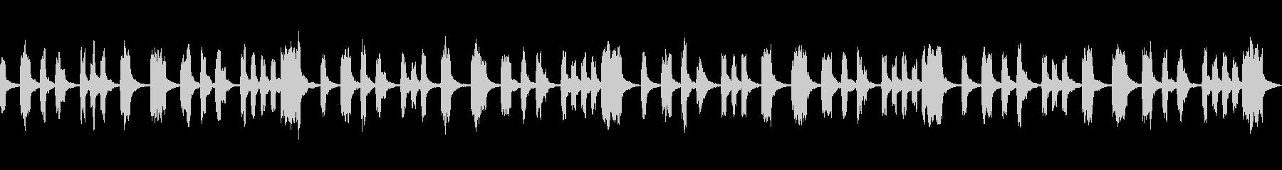 シンプル 切ない ヒーリングの未再生の波形