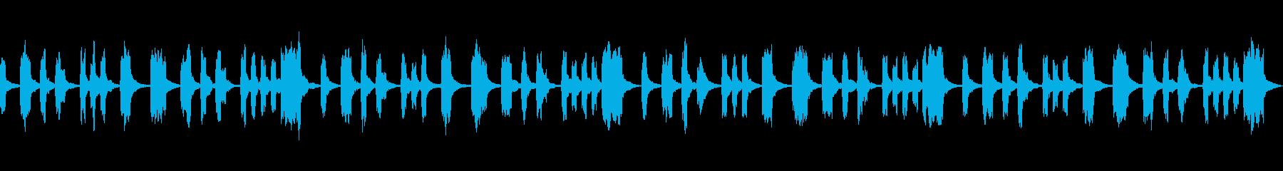 シンプル 切ない ヒーリングの再生済みの波形