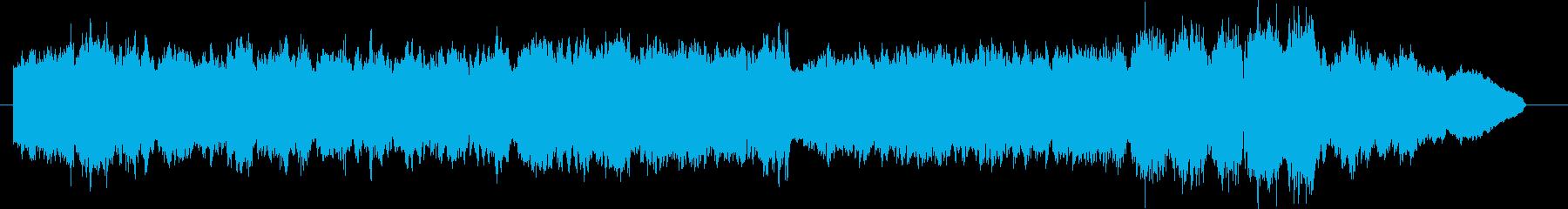 ストリングスによるシンプルなクラシックの再生済みの波形