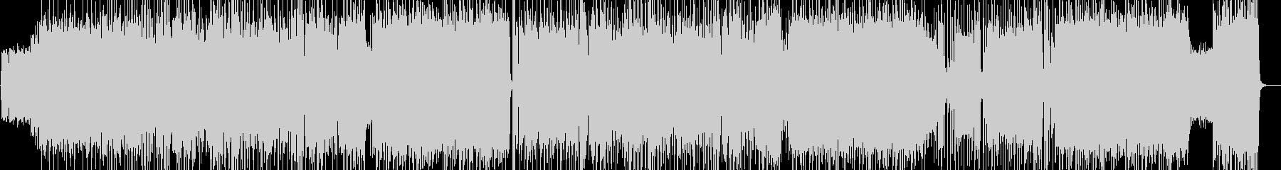 三味線デュオ 和風ハードロックの未再生の波形