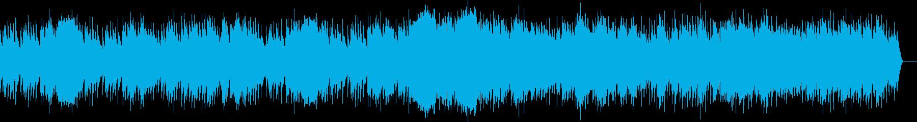第2曲 行進曲(オルゴール)の再生済みの波形