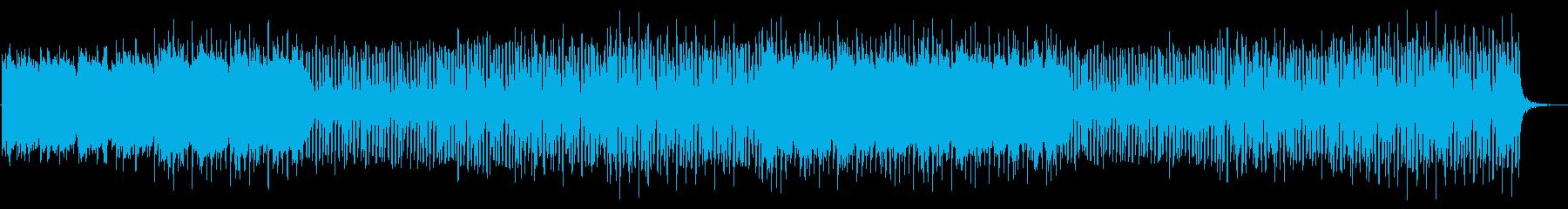夏のゆったりお洒落なトロピカルハウスの再生済みの波形