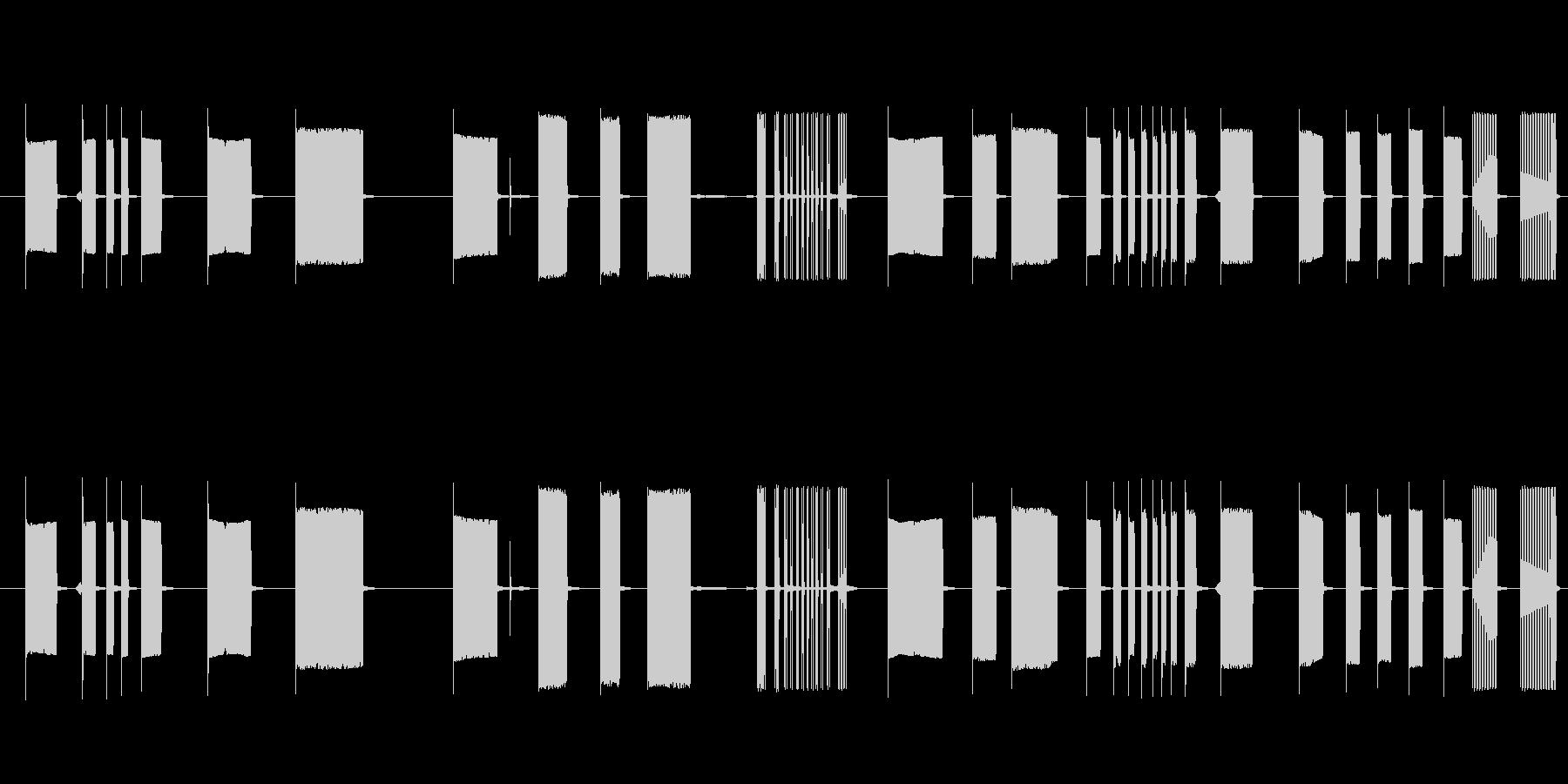 FX トーキングアーケード09の未再生の波形