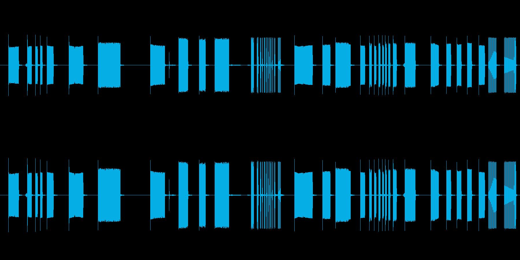 FX トーキングアーケード09の再生済みの波形
