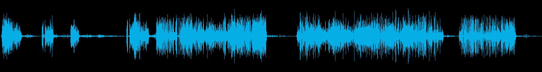 アーク溶接機:さまざまなアークと火花の再生済みの波形