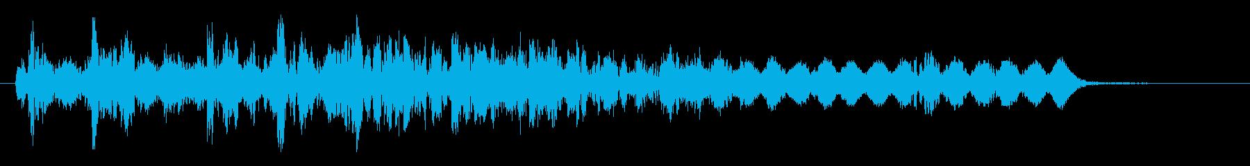 Veldt Door:スライドの再生済みの波形