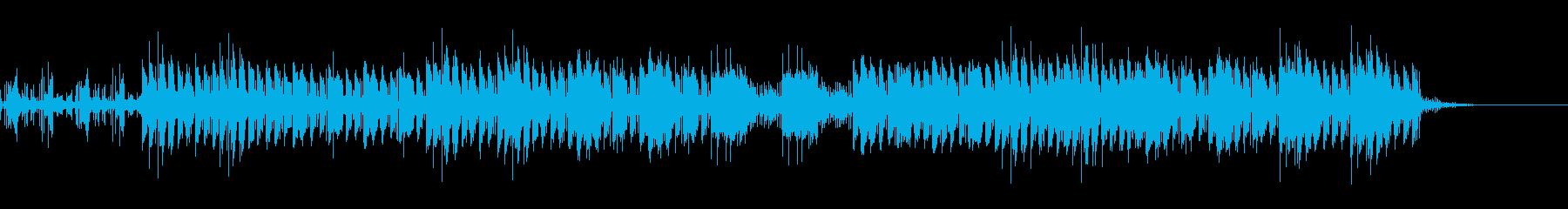 おしゃれ・機械的・EDMの再生済みの波形
