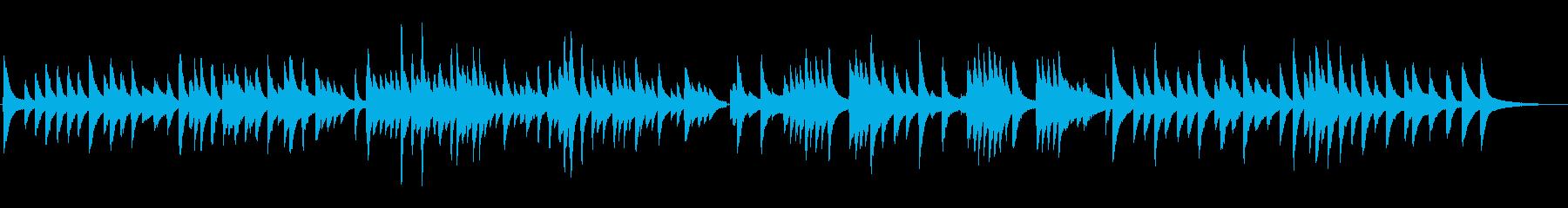 悲しくて切ないジャズラウンジピアノソロの再生済みの波形