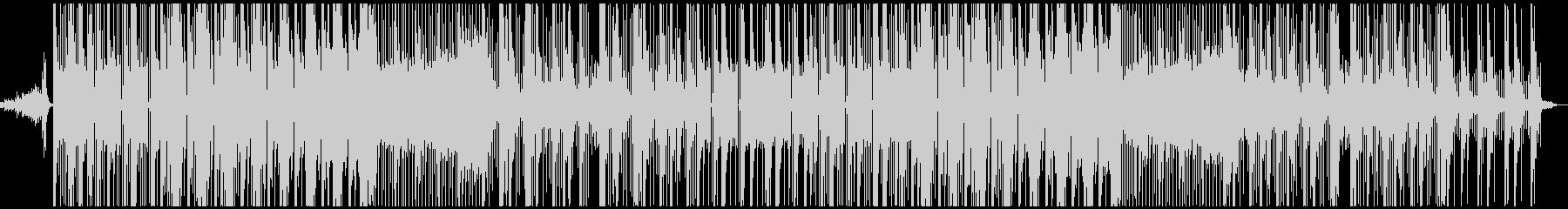 シンプルな最近のヒップホップトラックの未再生の波形
