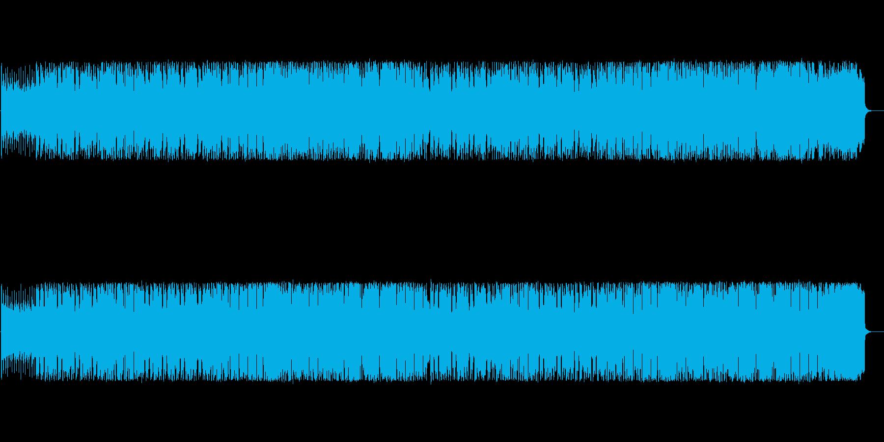ファンタジー風、牧歌的なケルトの再生済みの波形