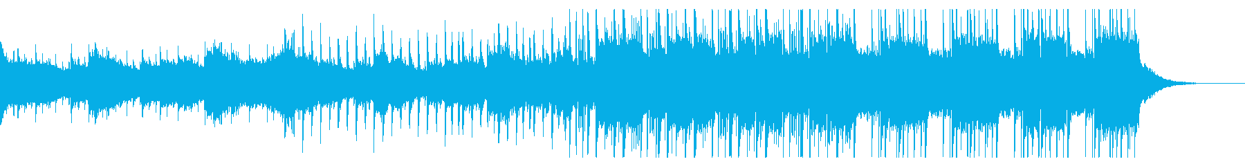 ボーカルチョップが可愛いPOPの再生済みの波形