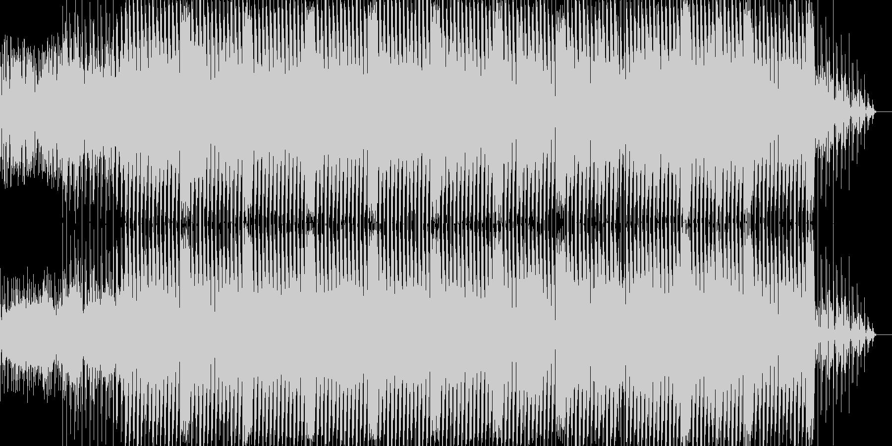 ゲームのオープニングに使えそうなBGMの未再生の波形