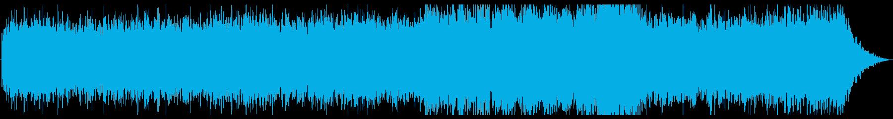 ドローン・壮大・リラックス・夜明け・Fの再生済みの波形